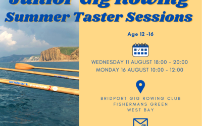 Junior Rowing Taster Sessions